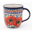 Polish Pottery BELLISSIMA 12-oz Stoneware Mug | EX-UNIKAT