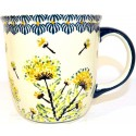 Polish Pottery WISH 12-oz Stoneware Mug | ARTISAN