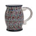 Polish Pottery COLOR ME LOVE 20-oz Stoneware Mug-Stein | ARTISAN