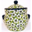 Polish Pottery BACOPA 7.6-Cup Stoneware Canister | UNIKAT