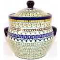 Polish Pottery ENCHANTING 7.6-Cup Stoneware Canister | ARTISAN