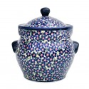 Polish Pottery FRIENDSHIP 7.6-Cup Stoneware Canister | ARTISAN