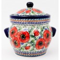 Polish Pottery BELLISSIMA 12-Cup Stoneware Canister | EX-UNIKAT
