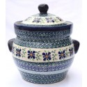 Polish Pottery DEAREST FRIEND 12-Cup Stoneware Canisters | ARTISAN