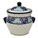 Polish Pottery LIMITED EDITION 16-Cup Stoneware Canister | ARTISAN