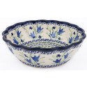 Pottery Avenue Scalloped Serving Bowl | BLUE TULIP