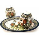 POLISH STONEWARE WISH SALT AND PEPPER | ARTISAN