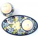 Pottery Avenue TRUE BLUES Salt and Pepper Cellars | ARTISAN