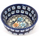 "Polish Pottery HERITAGE HOME 3"" Stoneware Bowl   CLASSIC"