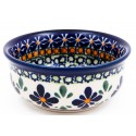Polish Pottery SWEETIE PIE Small Stoneware Bowl   ARTISAN