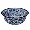 Polish Pottery 4TH OF JULY 61-oz Flared Top Stoneware Bowl | ARTISAN