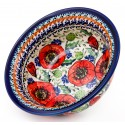 POLISH POTTERY BELLISSMA FLARED TOP BOWL | EX UNIKAT