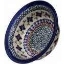 Polish Pottery SWEETIE PIE 17-oz Flared Top Stoneware Bowl | ARTISAN