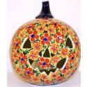 Polish Pottery LOVE Stoneware Jack-O-Lantern   ARTISAN