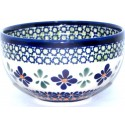 "Polish Pottery SWEETIE PIE 4.5"" Rice Stoneware Bowl 