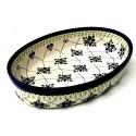 Polish Pottery SWEETHEART 11-inch Stoneware Oval Baker | ARTISAN