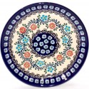 "Polish Pottery HERITAGE HOME 7.75"" Stoneware Salad Plate 