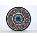 "Polish Pottery PASSION 7.75"" Stoneware Salad-Luncheon Plate"