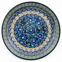 "Polish Pottery 7.75"" FAMILY GATHERING Stoneware Salad Plates 