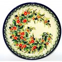"Polish Pottery SEASONS 7.75"" Stoneware Salad Plate 