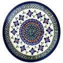 "Polish Pottery 7.75"" SWEETIE PIE Stoneware Salad Plates | ARTISAN"