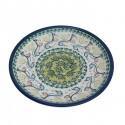 "Polish Pottery MADI GRAS 7.75"" Stoneware Salad-Luncheon Plate"