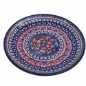 "Polish Pottery CHERISHED FRIENDS 7.75"" Stoneware Salad Plate 