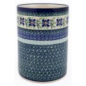 "Polish Pottery DEAREST FRIEND 7"" Stoneware Utensil Jar 