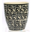 Polish Pottery 6 oz. ELEGANT TIMES Small Cup |CLASSIC