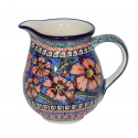 Polish Pottery CHERISHED FRIENDS 1.7-Cup Stoneware Pitcher | UNIKAT