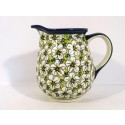 Polish Pottery BACOPA 3.6-Cup Stoneware Pitcher | UNIKAT