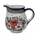 Polish Pottery EMPRESS 3.6-Cup Stoneware Pitcher | UNIKAT