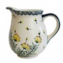 Polish Pottery WISH 3.6-Cup Stoneware Pitcher | ARTISAN