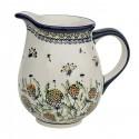 Polish Pottery WISHFUL 3.6-Cup Stoneware Pitcher | ARTISAN