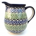 Polish Pottery CELEBRATE 3.6-Cup Stoneware Pitcher | CLASSIC