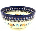 Polish Pottery HERITAGE 2-Cup Stoneware Cereal-Salad Bowl | CLASSIC