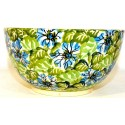Polish Pottery 2 Cup HEAVENLY Cereal Bowl | UNIKAT