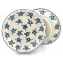 "Polish Pottery Vena ALISON 10.25"" Dinner Stoneware Plate"