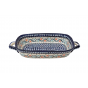 Polish Pottery Stonware  Serving Trays with Handles | HERITAGE HOME