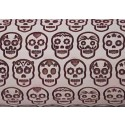 """10"""" Embossing Rolling Pin DAY OF THE DEAD"""