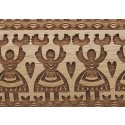 "10"" Embossing Rolling Pin Folk Dance"