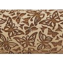 "10"" Embossing Rolling Pin Butterfly"