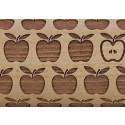 "10"" Embossing Rolling Pin Apple Pie"
