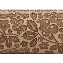 "10"" Embossing Rolling Pin Berry Pie"