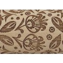 "10"" Embossing Rolling Pin Folk Floral"