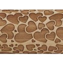 Embossing Rolling Pin | Double Love