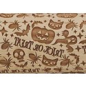 "10"" Embossing Rolling Pin Trick or Treat"