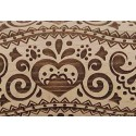 """10"""" Embossing Rolling Pin   Heart Moments"""