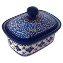 Polish Pottery SWEETIE PIE 2-Cup Stoneware Butter Box | ARTISAN