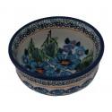 Polish Pottery NORDIC Small Stoneware Bowl   UNIKAT